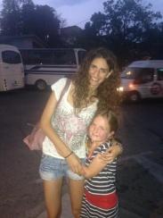 Kate and me