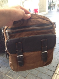 Managed to find a man bag in my shopping - don't know how I survived for 6 months without!