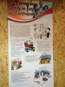 This is what to do if you're in an earthquake
