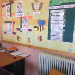 Kalika's classroom