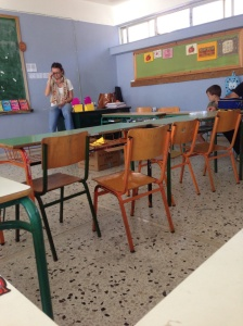 Yas and Tobes' classroom
