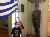 A Greek navy uniform