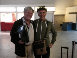 Aha - we caught Pa with a man bag