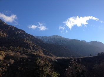 The glorious Atlas Mountains
