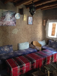 Berber family lounge room