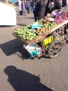 Prickly pears and other exotics fruits