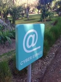 Cyber park in Marakkech