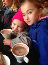 A warming hot chocolate