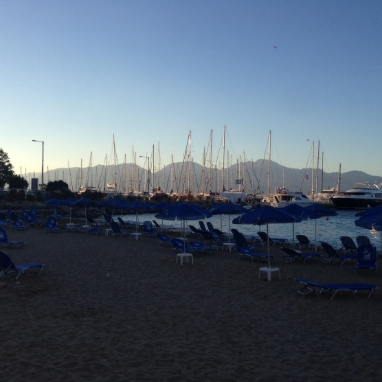 Our last glorious sunrise in Crete