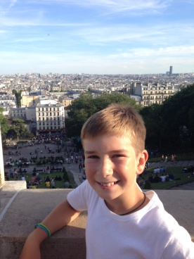 View from the Sacre Ceur