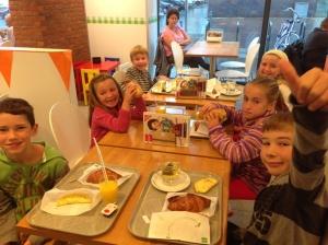 We loved Hema breakfasts